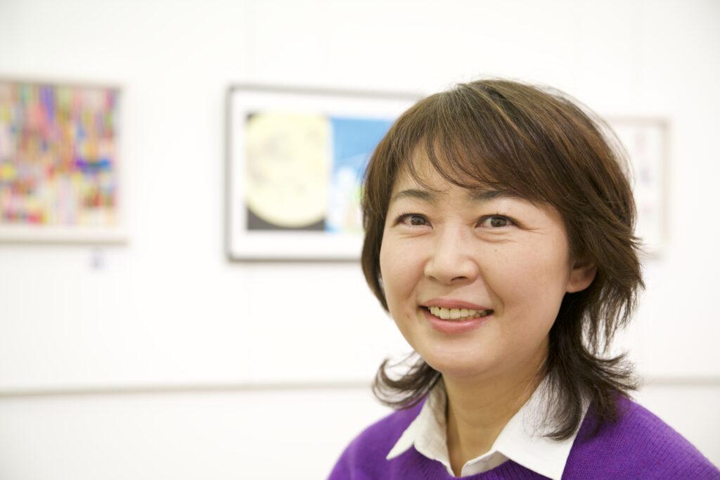 理事長の萩原美由紀さん